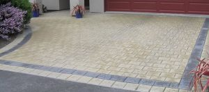 Different colours and designs if block paving from Driveways Gloucester Gloucestershire UK